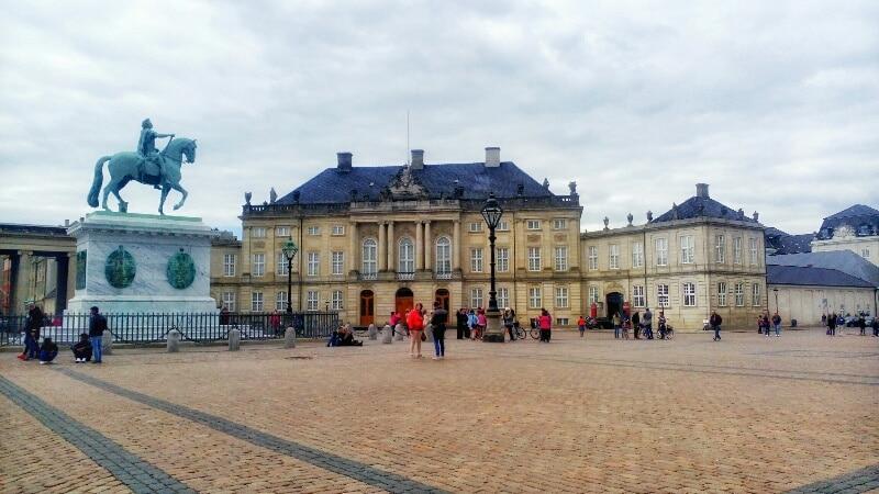 Amalienborg-Copenaghen
