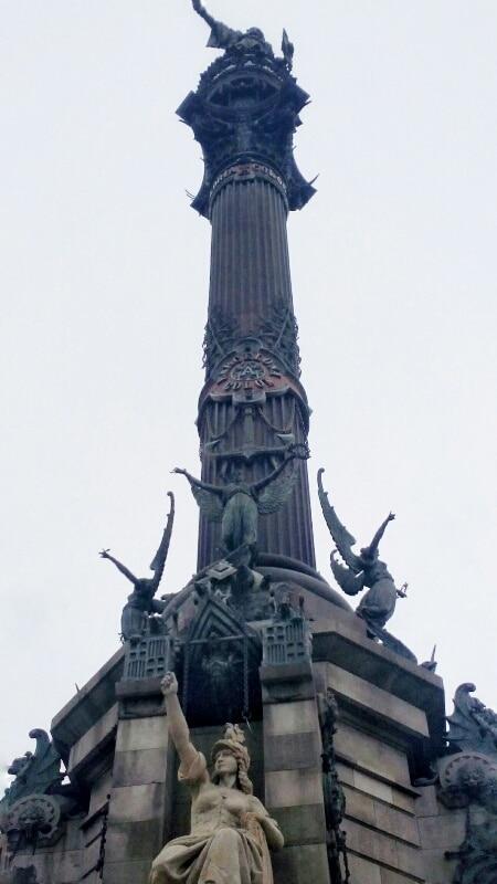 statua-colombo-Barcellona
