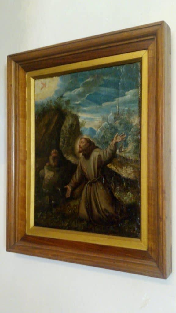 quadro-sala-camino-Castello-di-Thun
