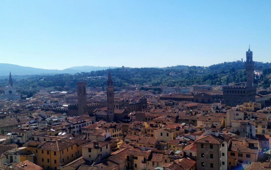 Itinerario a piedi Firenze fra cultura e storia