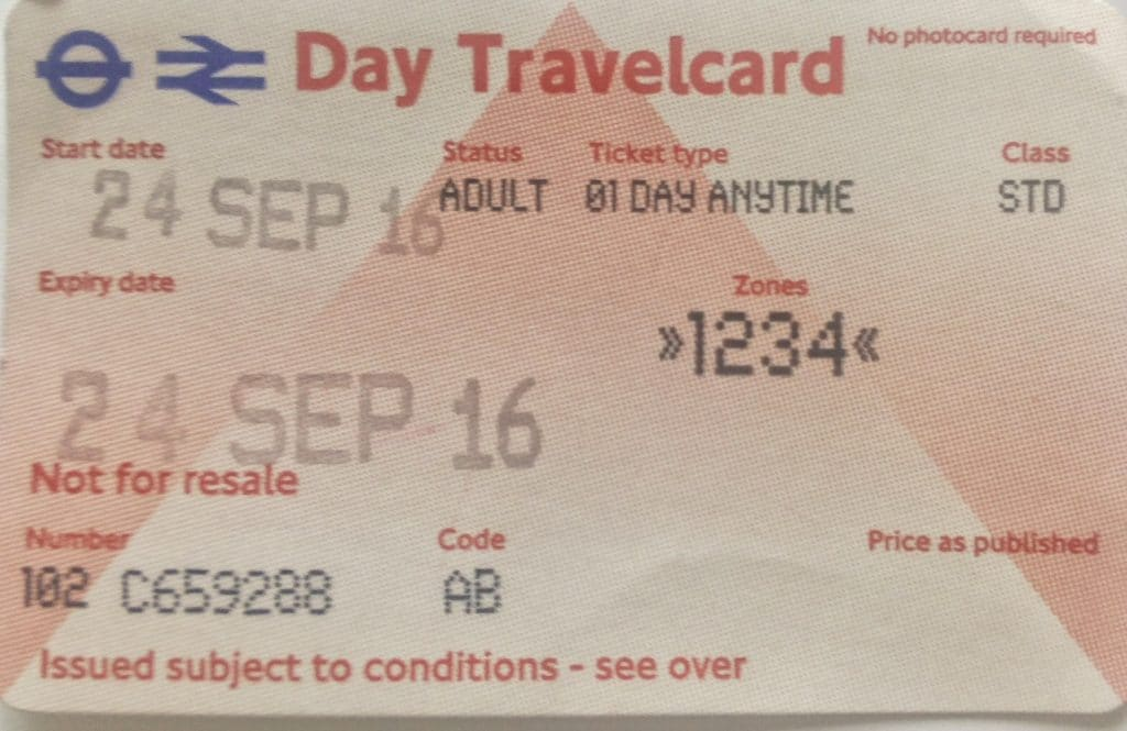 travelcard-londra