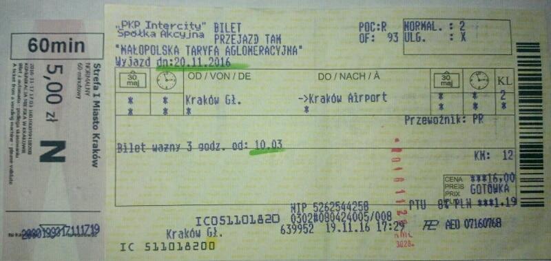 Bus-treno-aeroporto-Cracovia