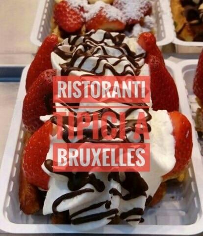 Ristoranti tipici a Bruxelles