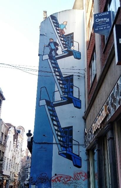 Tintin-Bruxelles