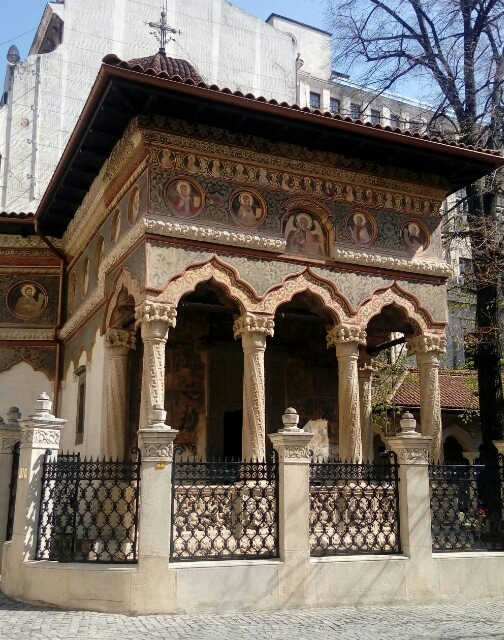 Chiesa-Stravropoleos-Bucarest