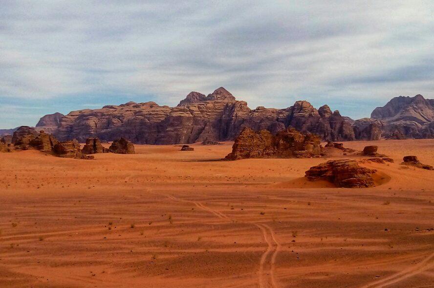Risalente deserto Rosa