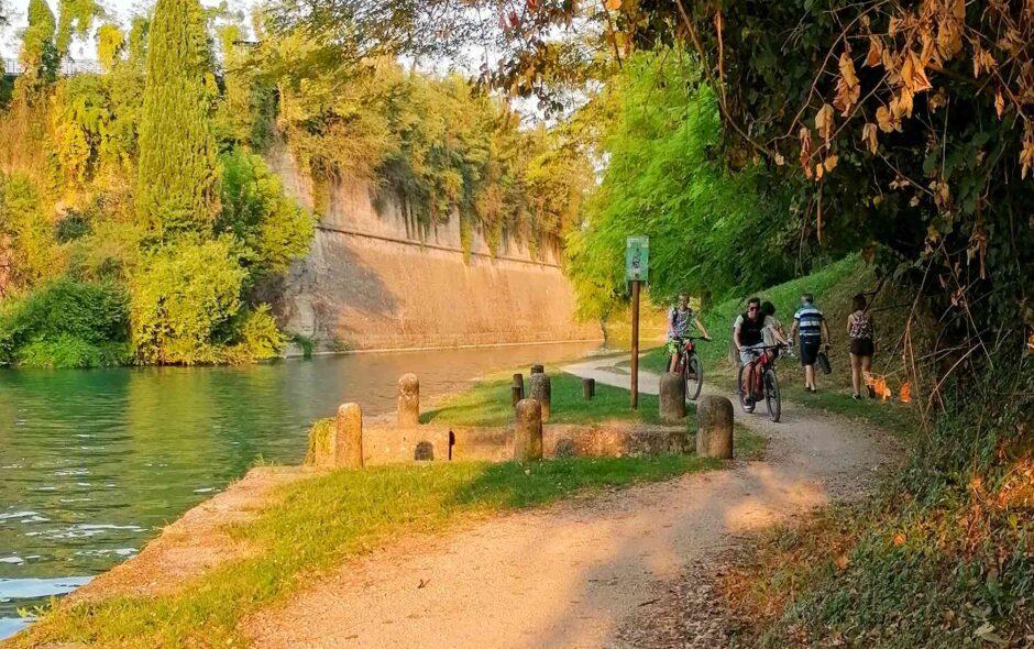 Ciclovia Peschiera del Garda–Mantova fra natura e borghi medievali