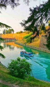 Ciclovia-Peschiera-del-Garda-Mantova-vista-lago